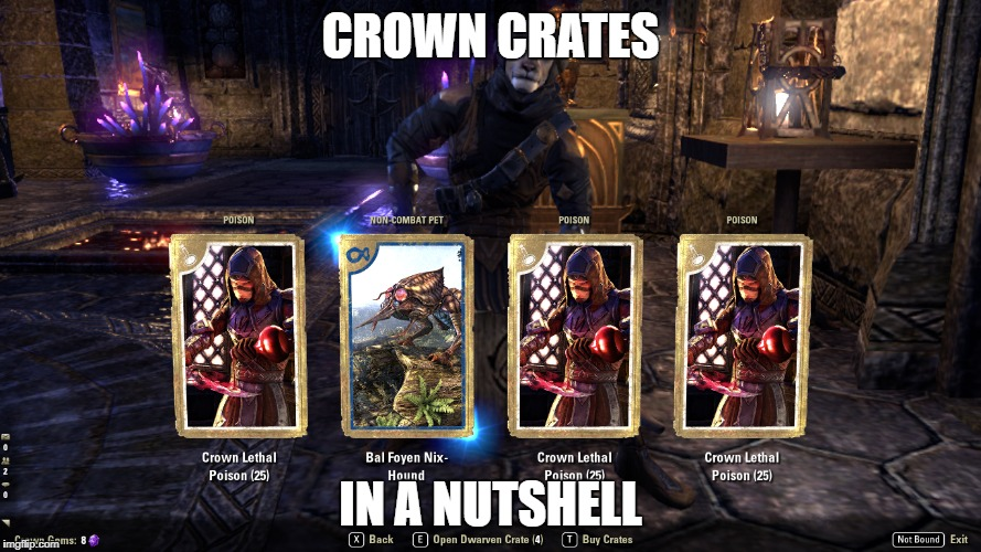 I opened my 5 free crown crates and this is what I got    - Page 3