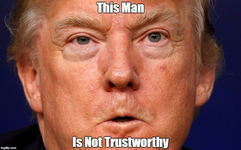This Man Is Not Trustworthy | made w/ Imgflip meme maker