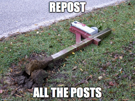 REPOST ALL THE POSTS | made w/ Imgflip meme maker