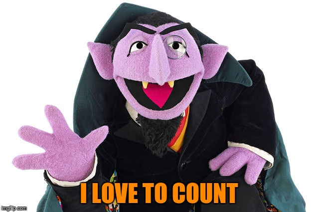 I LOVE TO COUNT | made w/ Imgflip meme maker