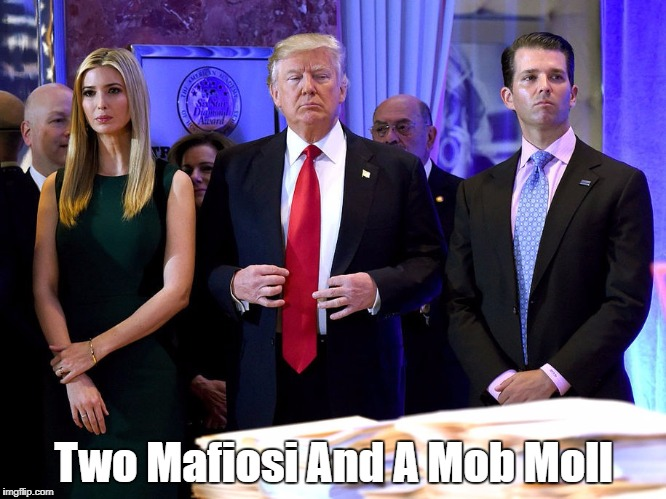 Two Mafiosi And A Mob Moll | made w/ Imgflip meme maker