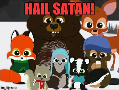 Image tagged in woodland critter christmas,memes,south park - Imgflip
