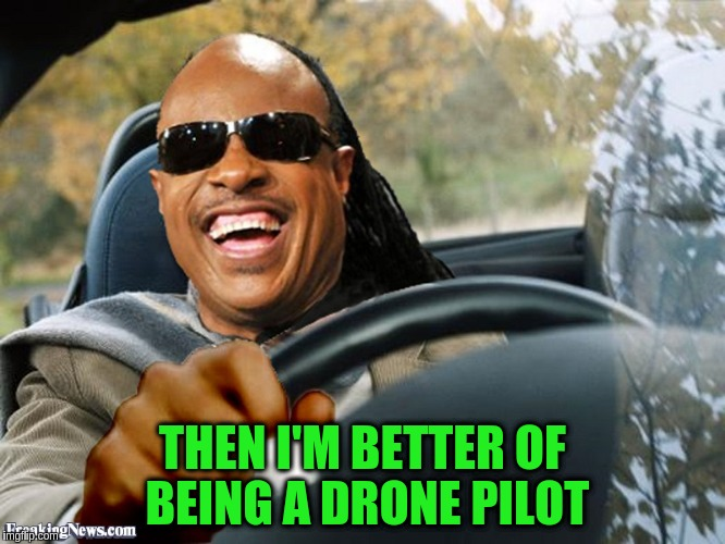 THEN I'M BETTER OF BEING A DRONE PILOT | made w/ Imgflip meme maker