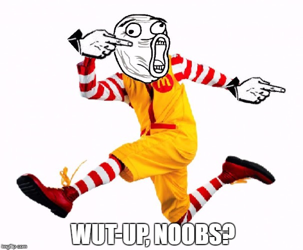 "When your all of a sudden part of a ""Scary Clown Epidemic"" 