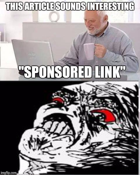 "Can't Hide It Harold | THIS ARTICLE SOUNDS INTERESTING ""SPONSORED LINK"" 