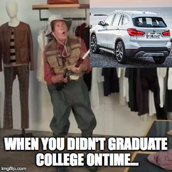 State Farm Fisherman  | WHEN YOU DIDN'T GRADUATE COLLEGE ONTIME... | image tagged in state farm fisherman | made w/ Imgflip meme maker