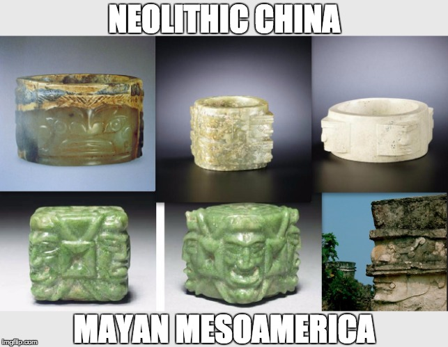 NEOLITHIC CHINA MAYAN MESOAMERICA | image tagged in meme | made w/ Imgflip meme maker