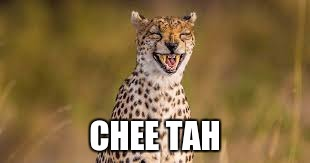 CHEE TAH | made w/ Imgflip meme maker