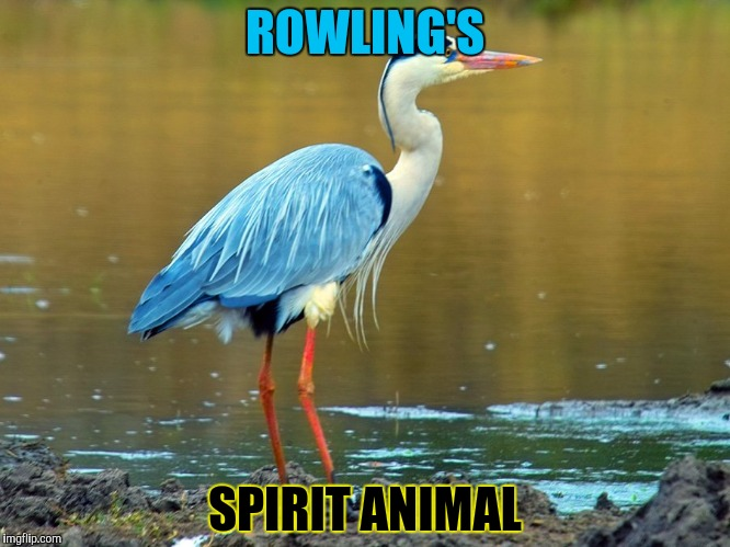 ROWLING'S SPIRIT ANIMAL | made w/ Imgflip meme maker