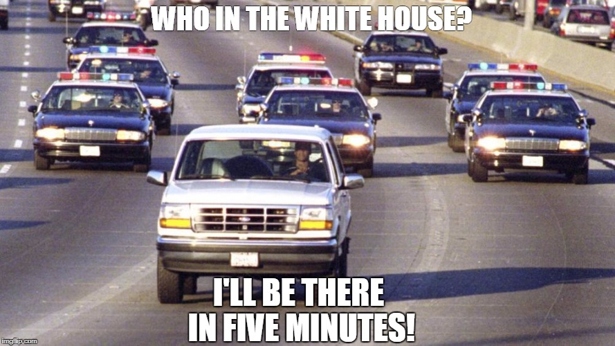 This some bull! | WHO IN THE WHITE HOUSE? I'LL BE THERE IN FIVE MINUTES! | image tagged in rollingthru,whitehouse | made w/ Imgflip meme maker