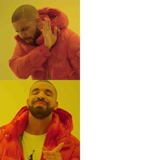 Blank Meme Man comparing guy B...