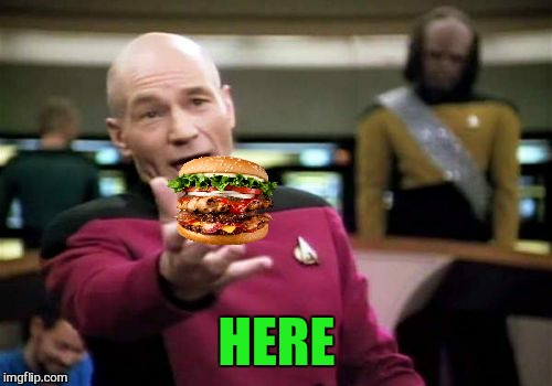 Picard Wtf Meme | HERE | image tagged in memes,picard wtf | made w/ Imgflip meme maker