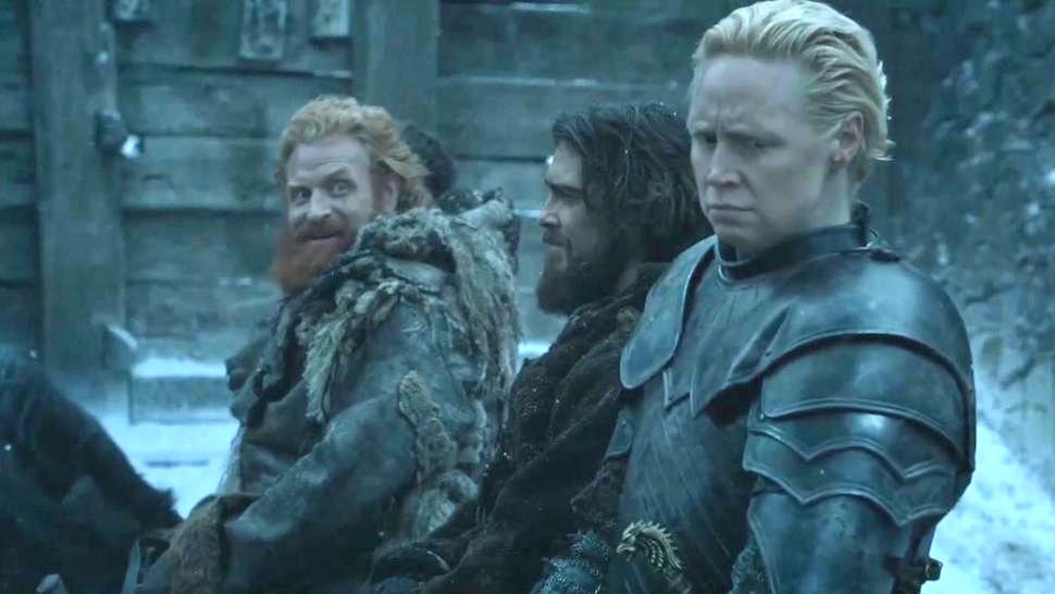 game of thrones brienne tormund Meme Template