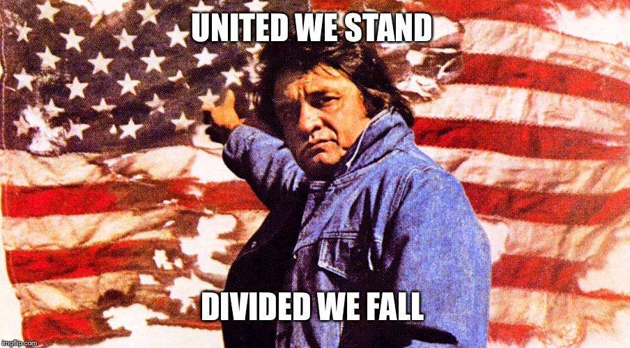 UNITED WE STAND DIVIDED WE FALL | made w/ Imgflip meme maker