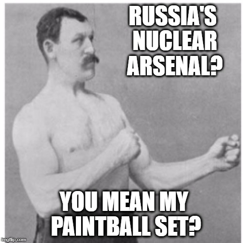 "This is my first ""Overly Manly Man"" meme 