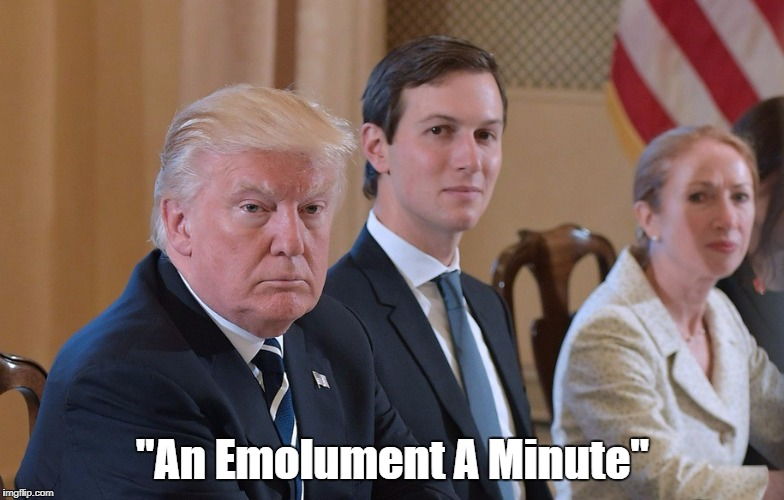 """An Emolument A Minute"" 
