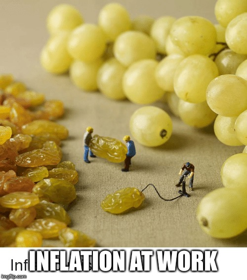 INFLATION AT WORK | made w/ Imgflip meme maker