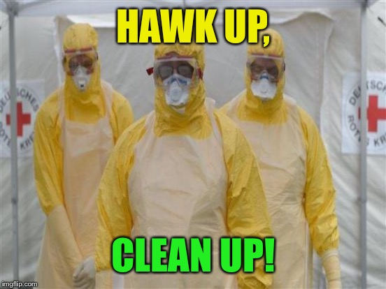HAWK UP, CLEAN UP! | made w/ Imgflip meme maker