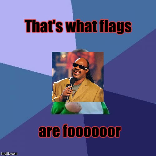 Success Kid Meme | That's what flags are foooooor | image tagged in memes,success kid | made w/ Imgflip meme maker