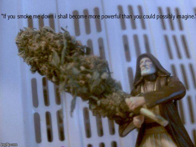 Nottingham 7-23-17 | image tagged in star wars,weed,funny memes,original meme | made w/ Imgflip meme maker