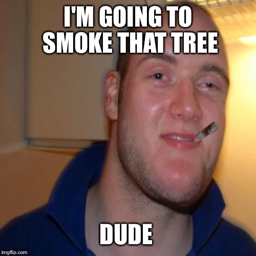 I'M GOING TO SMOKE THAT TREE DUDE | made w/ Imgflip meme maker