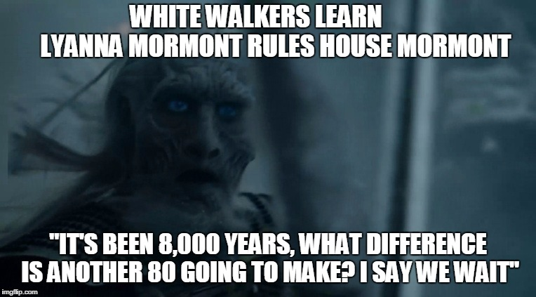 white walker - Imgflip