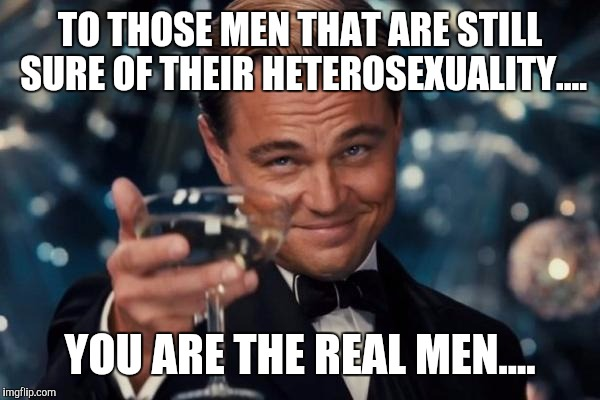 "Metrosexual is just another name for ""Peter puffer with a beard!"" 