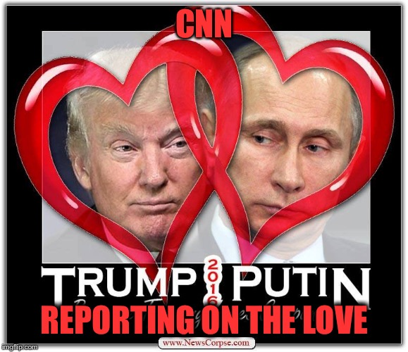 CNN REPORTING ON THE LOVE | made w/ Imgflip meme maker