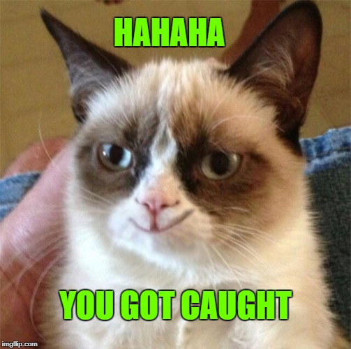 HAHAHA YOU GOT CAUGHT | made w/ Imgflip meme maker
