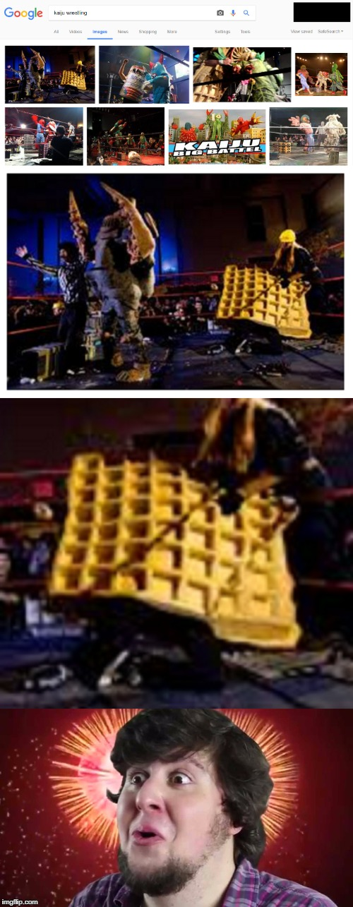 """Kaiju Wrestling"" 