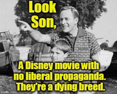 Look Son Meme | Look Son, A Disney movie with no liberal propaganda.  They're a dying breed. | image tagged in memes,look son,moana,disney,pixar,hollywood | made w/ Imgflip meme maker