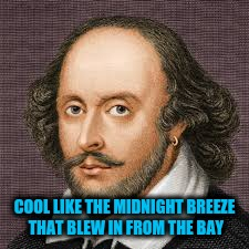 COOL LIKE THE MIDNIGHT BREEZE THAT BLEW IN FROM THE BAY | made w/ Imgflip meme maker