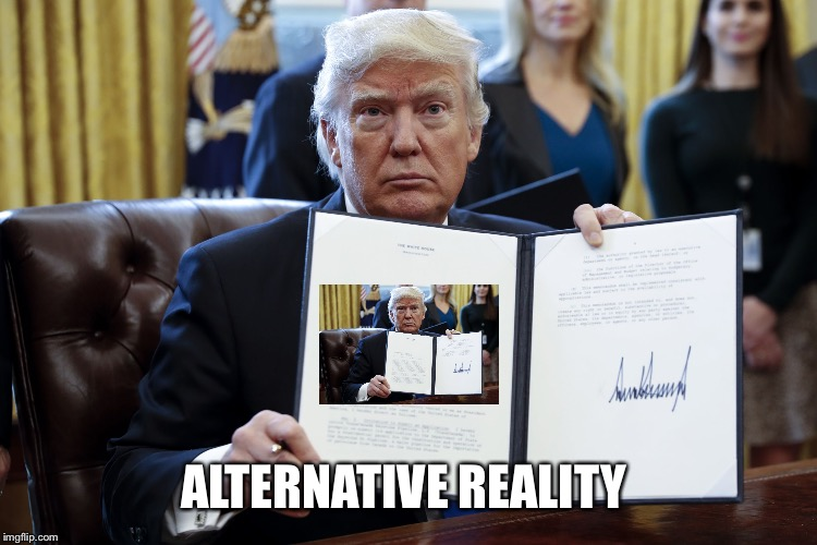 ALTERNATIVE REALITY | made w/ Imgflip meme maker