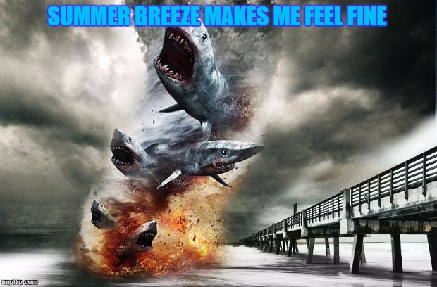 SUMMER BREEZE MAKES ME FEEL FINE | made w/ Imgflip meme maker
