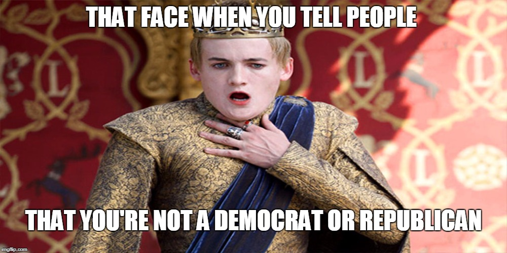 "They're like, ""Who do you vote for and who do you support?"" 