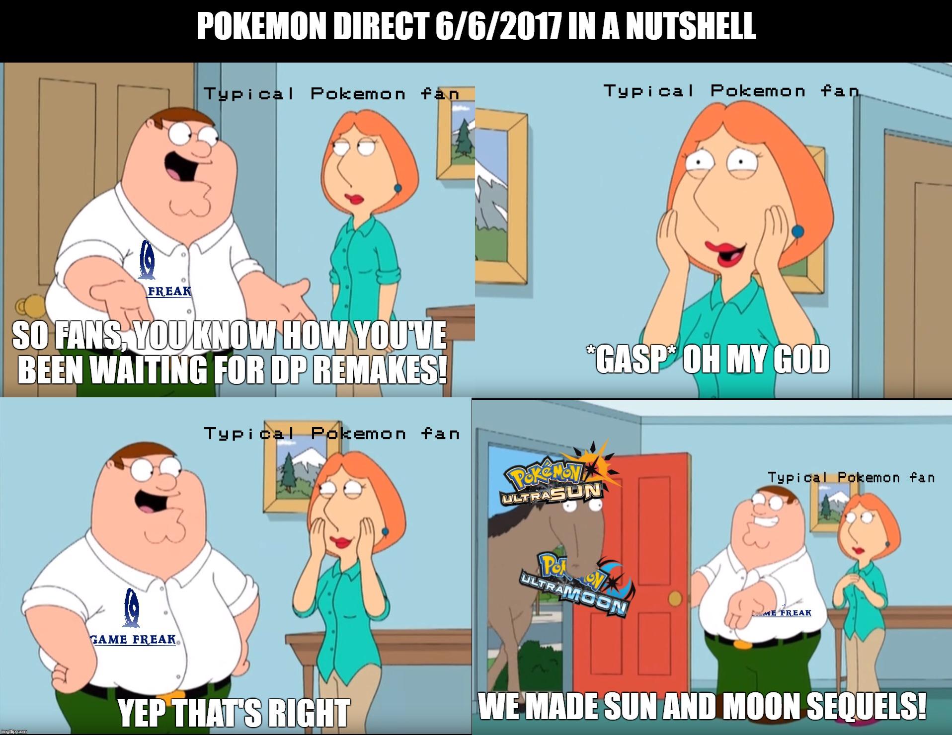 Image tagged in pokemon,pokemon ultra sun,family guy ...