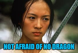 NOT AFRAID OF NO DRAGON | made w/ Imgflip meme maker