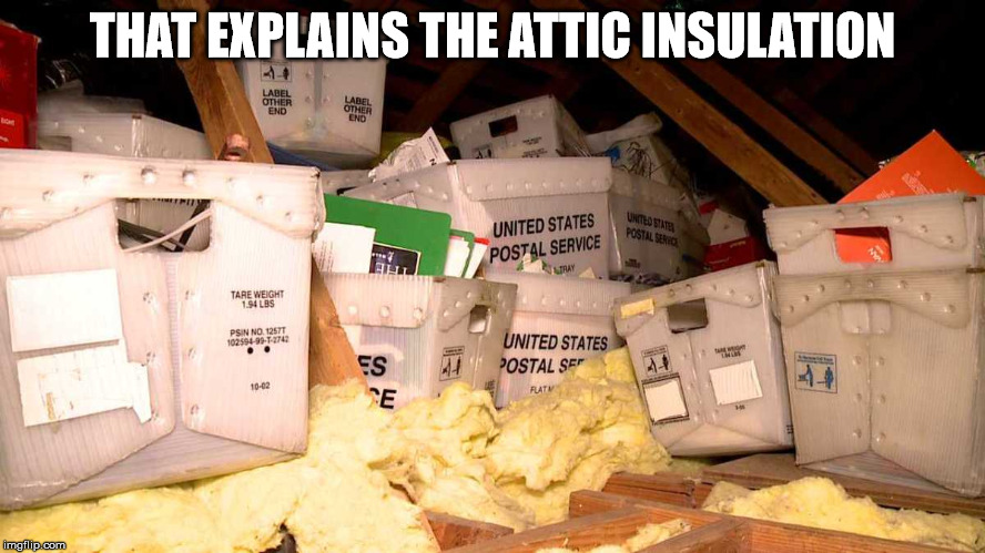 THAT EXPLAINS THE ATTIC INSULATION | made w/ Imgflip meme maker