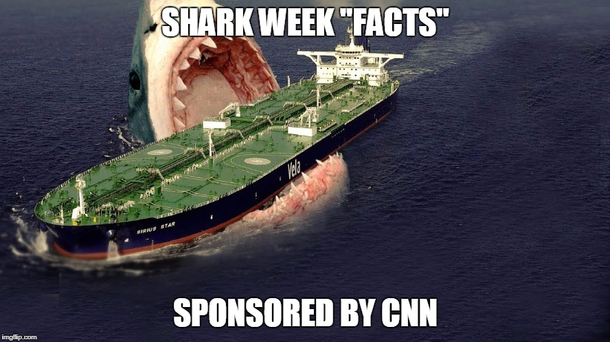 "CNN & Discovery Present ""Shark Week"" 
