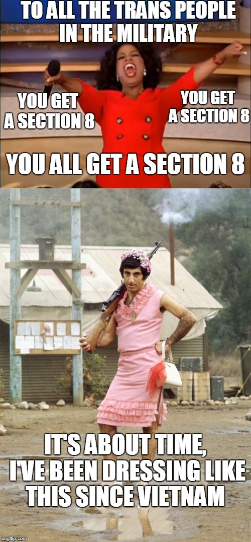 "Klinger is not a role model for the trans ""community"" 