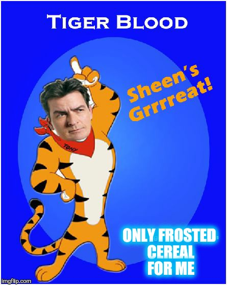 ONLY FROSTED CEREAL FOR ME | made w/ Imgflip meme maker