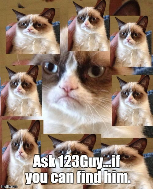 Ask 123Guy...if you can find him. | made w/ Imgflip meme maker