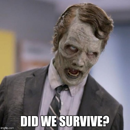 DID WE SURVIVE? | made w/ Imgflip meme maker