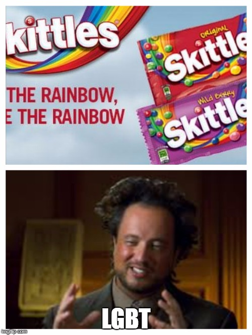 LGBT | image tagged in this is totally not an ad for skittles | made w/ Imgflip meme maker