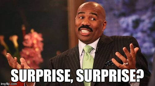 Steve Harvey Meme | SURPRISE, SURPRISE? | image tagged in memes,steve harvey | made w/ Imgflip meme maker