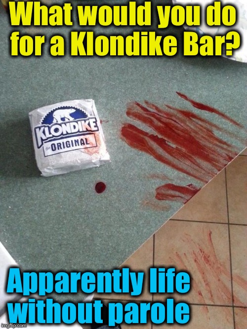 "Before you ask yourself ""What would you do for a Klondike Bar?"", you might want to hire a lawyer first. 