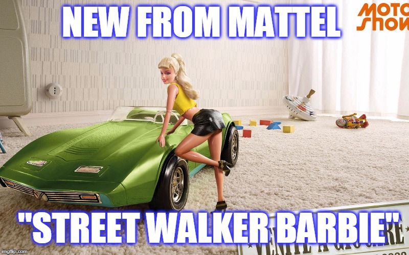 "NEW FROM MATTEL ""STREET WALKER BARBIE"" 