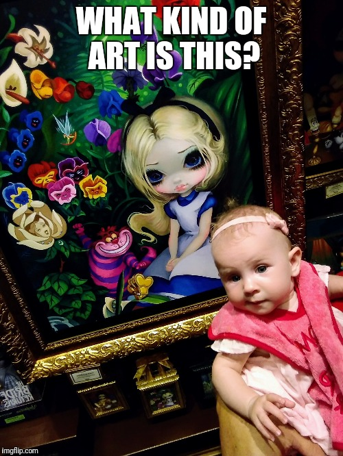 Baby art critic | WHAT KIND OF ART IS THIS? | image tagged in memes,skeptical baby | made w/ Imgflip meme maker