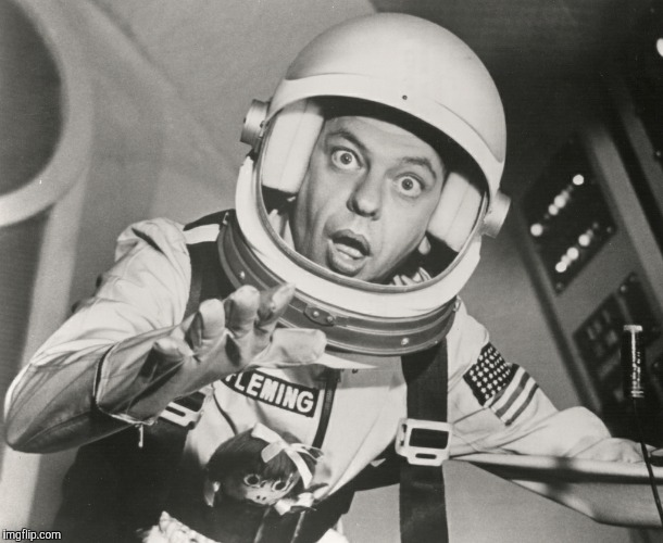 Don Knotts, Reluctant Astronaut afloat,,, | . | image tagged in don knotts reluctant astronaut afloat   | made w/ Imgflip meme maker
