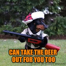 CAN TAKE THE DEER OUT FOR YOU TOO | made w/ Imgflip meme maker